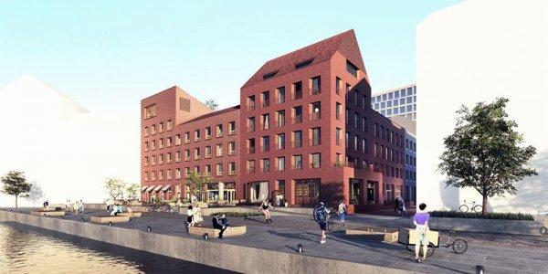 Serneke utvecklar bostäder i Varbergs nya stadsdel
