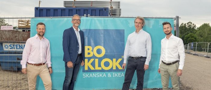 K-Fast och BoKlok utvecklar samarbetet i storaffär