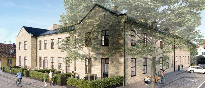 FOJAB ritar om kulturhus i Lund till bostäder