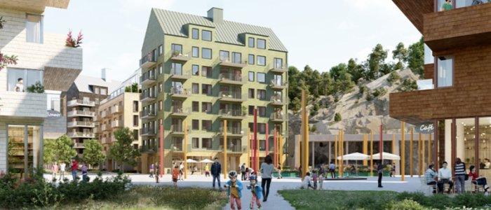 Titania och Huge utvecklar 500 bostäder
