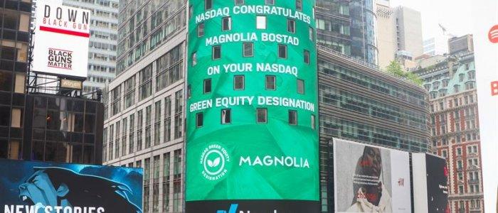 Magnolia får grön märkning av Nasdaq