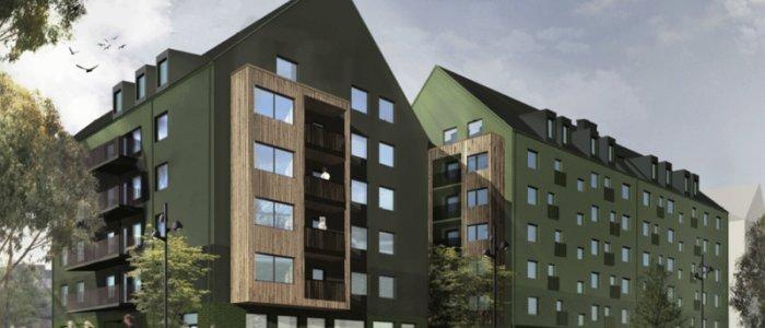 Tornstaden bygger hyresrätter åt Wallenstam i Uppsala