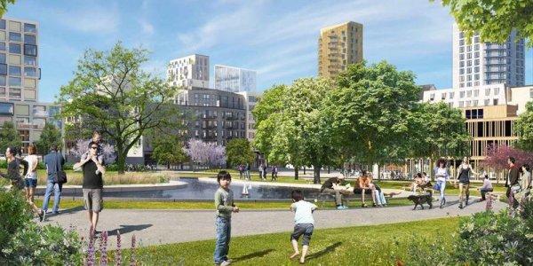 Balder och KF utvecklar nya stadsdelen Victoria