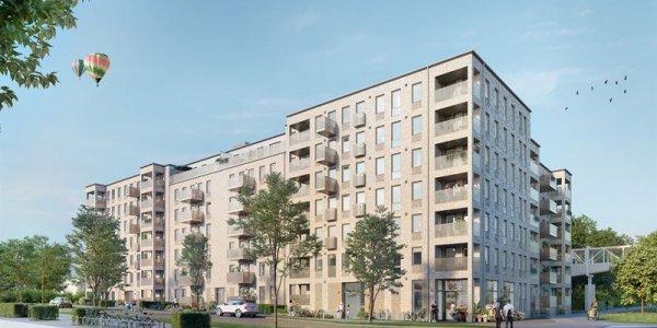 Peab utvecklar 113 hållbara bostäder i Lund