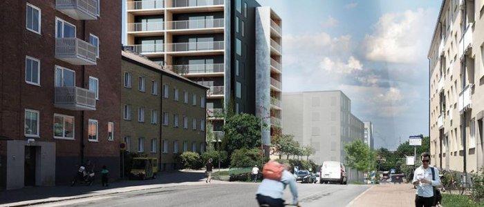 Peab bygger handelsplats och bostäder