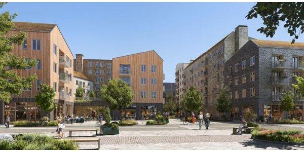 Magnolia utvecklar 350 bostäder i Kungsbacka