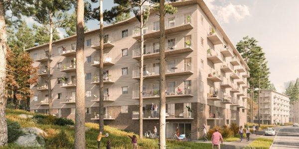 SHH storsäljer byggrätter till Amasten och Balder-JV
