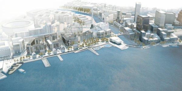 OBOS och AF utvecklar 125 bostäder i Skeppsbron