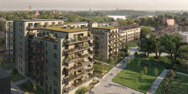 NCC och Aros uppför 155 nya bostäder