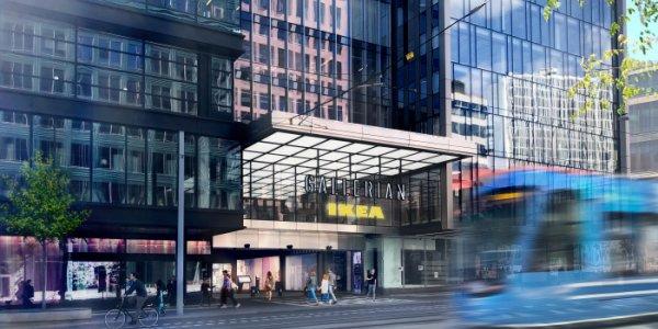 IKEA öppnar stort cityvaruhus i Gallerian