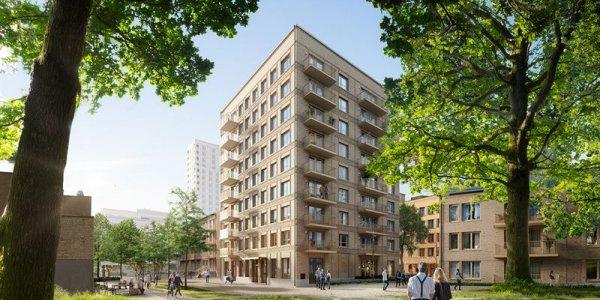 NCC bygger 126 lägenheter åt Familjebostäder