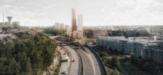 Balder i JV bygger Stockholms högsta bostadshus