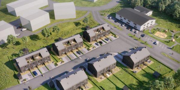 Ekeblad och NCC bygger radhus i Kalmar