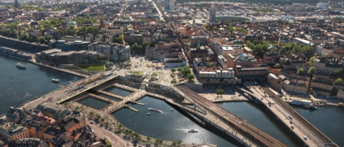 Atrium Ljungberg skapar unika kontor vid Slussen