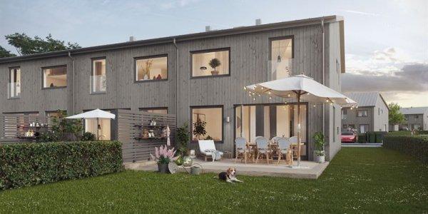 Serneke bygger radhus i Halmstad