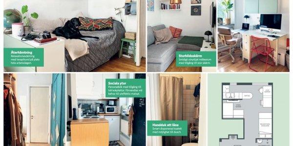 Castellum utmanar boomers med Sveriges minsta kontor