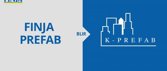 Finja Prefab byter namn till K-Prefab