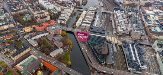 Humlegården får anvisning för Klara City View
