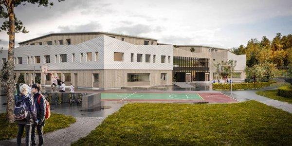 Peab bygger Hallerna skola i Stenungsund