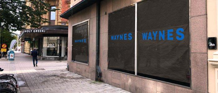 Diös utvecklar för Waynes Coffee i centrala Sundsvall