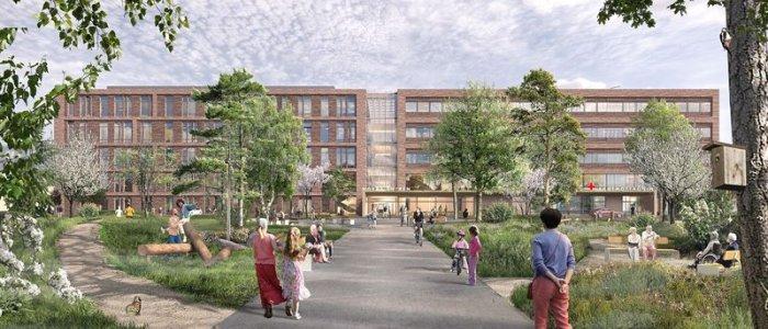 Skanska tecknar avtal om Karlstads Centralsjukhus