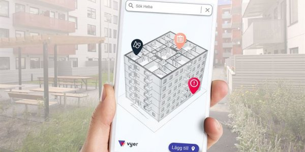 Heba tecknar avtal med Vyer.com om digitala tvillingar