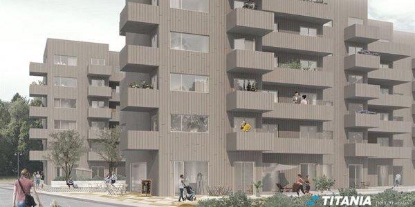 Titania får anvisning om 178 bostäder i Nacka