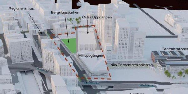 Arkitekterna som tävlar om Göteborgs nya station