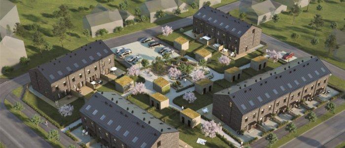 HA Bygg bygger radhus åt Mariastaden Projekt