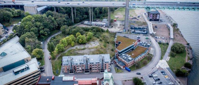 Göteborgs stad säljer tre fastigheter med byggrätt