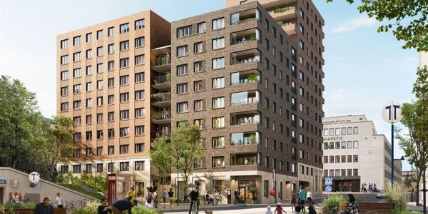 Balder bygger 138 lägenheter på Kungsholmen