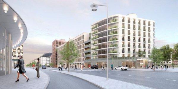 Resona utvecklar klimatsmart stadskvarter i Barkarby