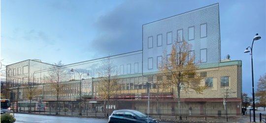 Så blir nya Högskolan hos Diös i Borlänge
